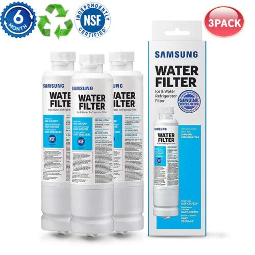 3 Packs Genuine Samsung DA29-00020B Refrigerator Fresh Water Filter HAF-CIN/EXP