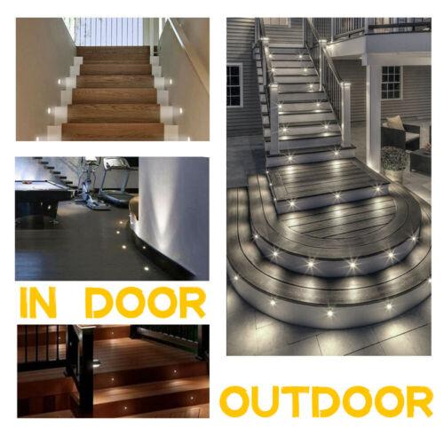 10x Bodeneinbauleuchte LED Bodenleuchte Außen Strahler Garten Beleuchtung Spots