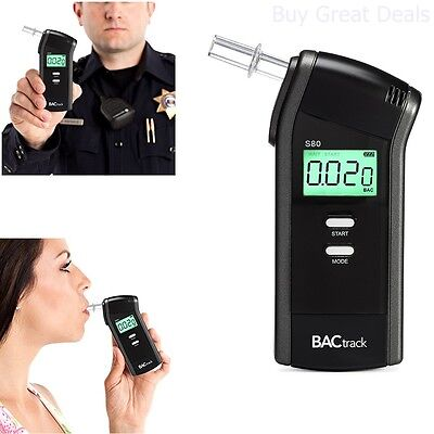 BACtrack S80 Breathalyzer, Professional Portable Breath ALCOHOL TESTER - NEW