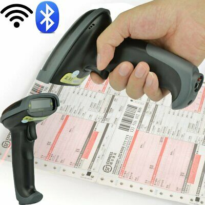 Wireless Bluetooth Barcode Scanner Laser Usb Scan Gun Label Reader For Post Us