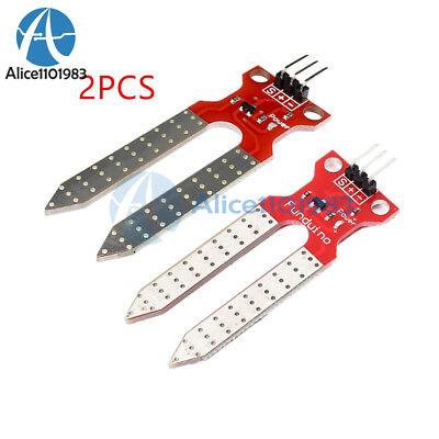 2pcs Soil Humidity Sensor Module Hygrometer Detection Module For Arduino 3.3v5v