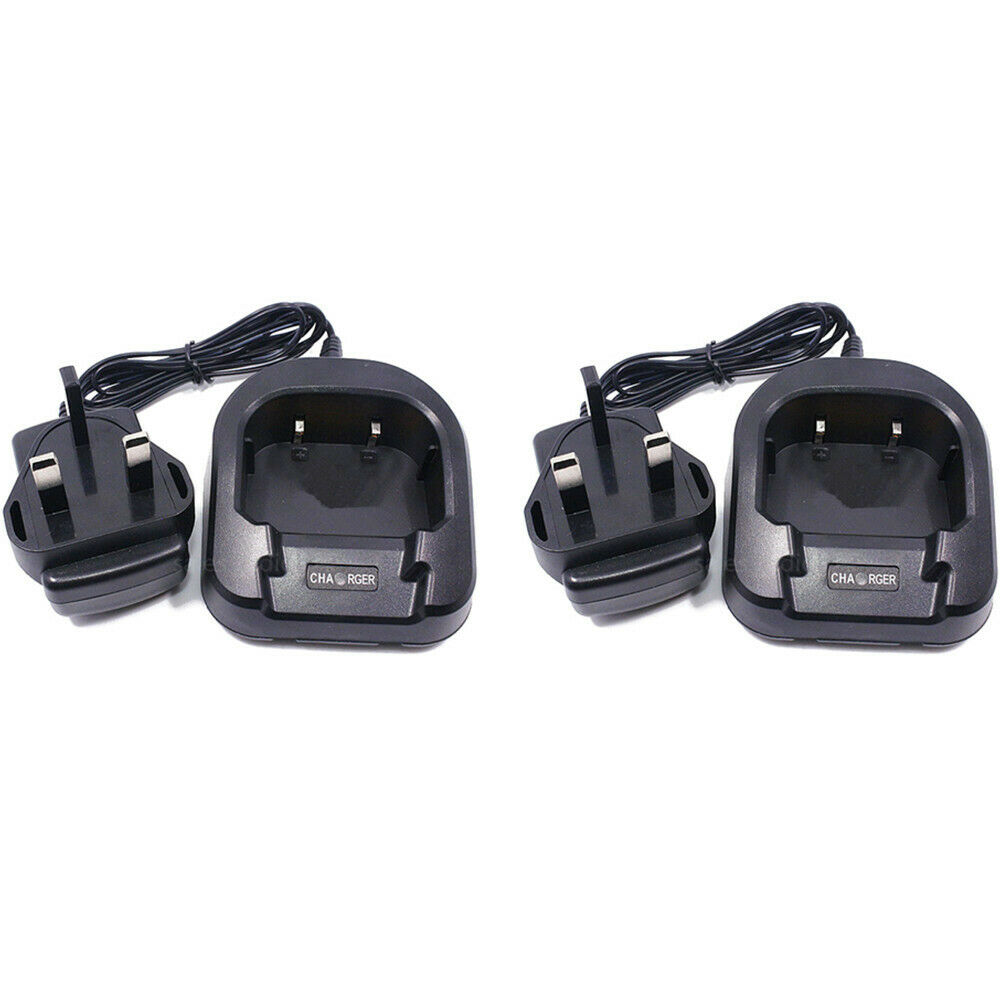 2X CH-8 Desktop Charger Baofeng UV-82 8W UV-82HP UV-8D UV-8 Radios Walkie Talkie