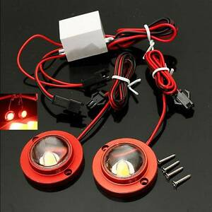 BRIGHT Red LED  Brake Lights STROBES, FLASHING, STATIONARY Mount Sheridan Cairns City Preview