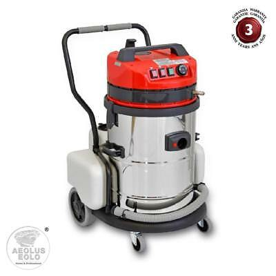 Professional Cleaning System Vacuum and Wash hot water 60° Accessories EOLO LP10