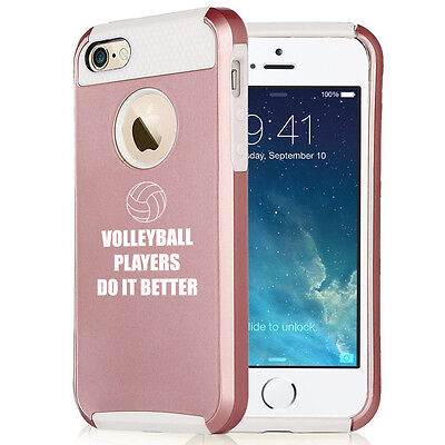 For iPhone X 5s 6 6s 7 8 Plus Rose Gold Shockproof Case Do It Better (Best Case For Rose Gold Iphone 7)