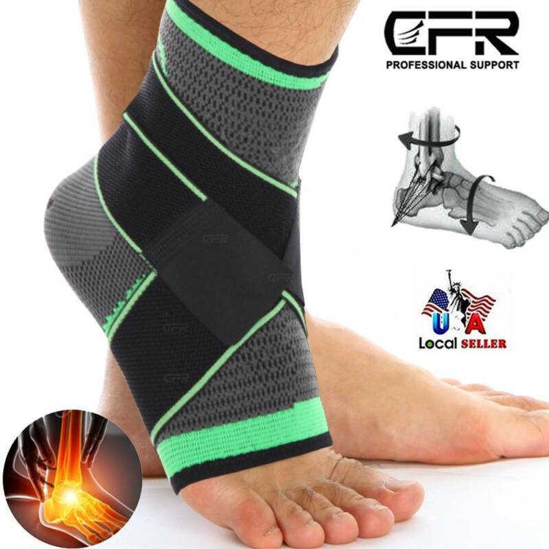 Compression Socks Arch Ankle Running Support Plantar Fasciit