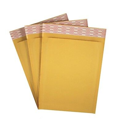 50 Pack 6.5 X 9 Kraft Bubble Mailers Self Seal Padded Shipping Envelopes 0