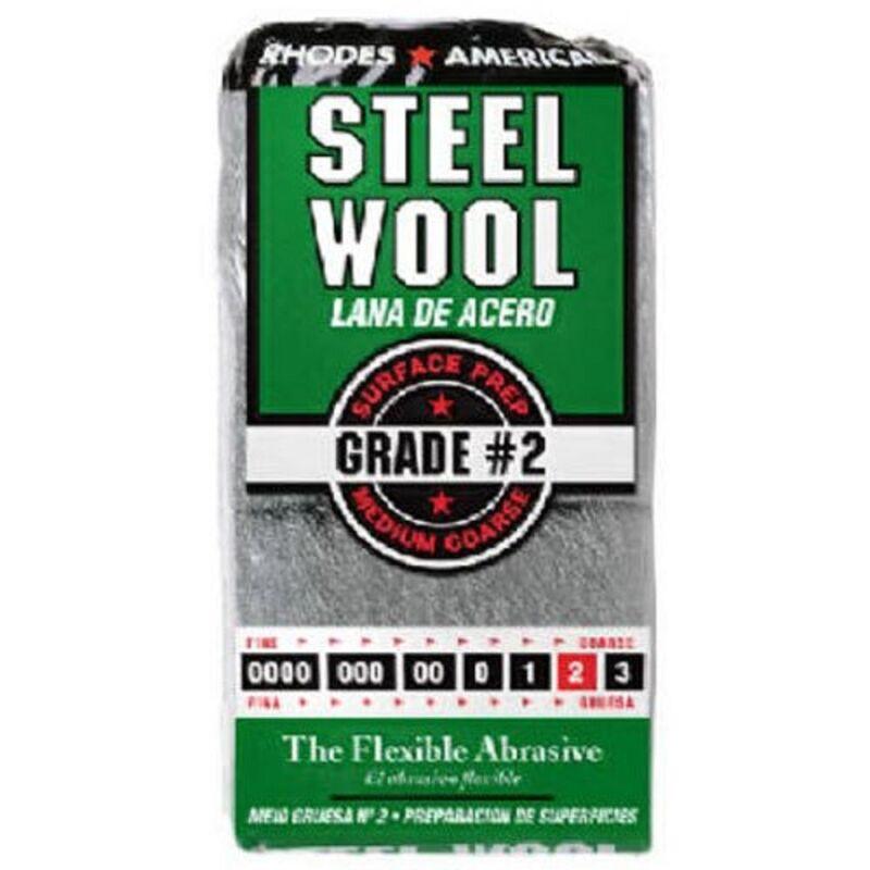 (Lot of 2) Rhodes America Steel Wool (12 per Each Pack)
