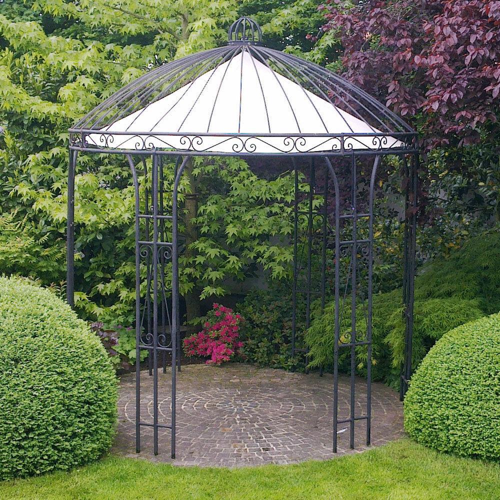eisenpavillon gartenpavillon rosenpavillon metallpavillon pavillon eisen 260cm ebay. Black Bedroom Furniture Sets. Home Design Ideas