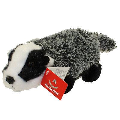 Aurora World Plush - Mini Flopsie - BADGER (8 inch) - New Stuffed Animal Toy