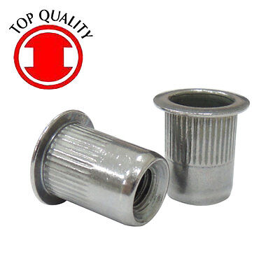 Lfk Sus Stainless Steel Rivet Nut Rivnut Insert Nutsert - 14-20 Tsbs420 20pcs