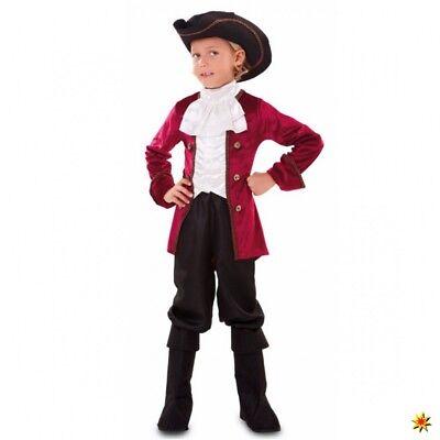 Kinderkostüm Höfling Oliver 122- 158 Fasching Baron Graf Adliger Jungen Kostüm