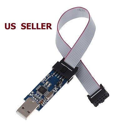 Us Ship Avr 51 Atmega Programmer Isp Downloader Usb Asp Downloader