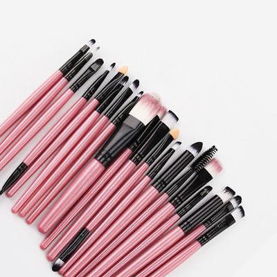 20PCS Make Up Brushes Set Eye Shadow Brush Foundation Makeup Brusher UK STOCK