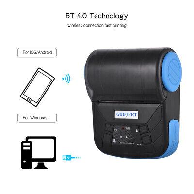 Goojprt Wireless Bt 80mm Pos Esc Thermal Label Bluetooth Receipt Printer Us