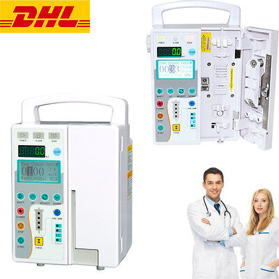 Medical Infusion Pump Iv Fluid Equipment And Audible And Visual Alarm Ce Fda