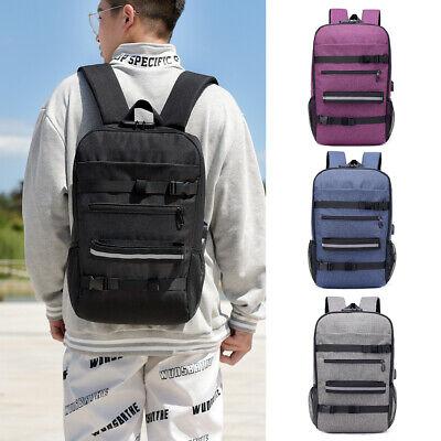 Anti-theft Skateboard Backpack Laptop Backpack College Backpack Travel J6L0