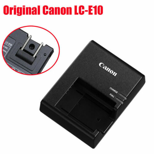 NEW Genuine Canon Charger For T3 T5 T6 T7  charger LC-E10 LCE10 LP-E10 Battery