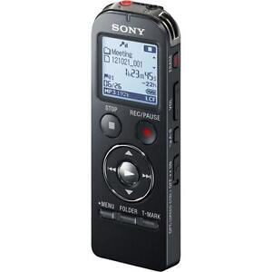 Sony ICD-UX533 4GB Quality Digital Voice Recorder Memory Card Slot Black - New