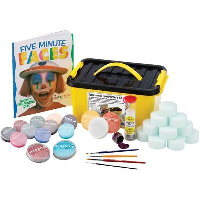 Snazaroo Professional Face Paint Kit Fancy Dress Halloween Kids Makeup Accessory (Snazaroo Face Painting Kit Halloween)