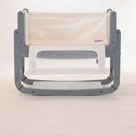 Snuzpod 2 Co Sleeping Crib, Dove Grey