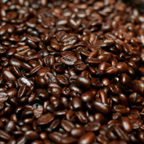 Dark Roasted Colombian Supremo Coffee Whole Beans 5 - 1 Pound Bags
