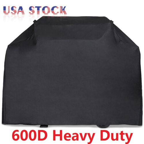 """58"""" 64"""" 70"""" 72"""" BBQ Grill Gas Barbecue Black Cover Waterproo"""