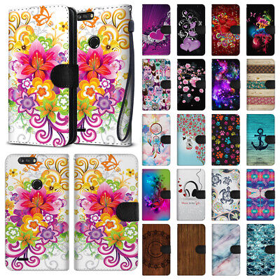 For ZTE Blade Z Max Z982/ Sequoia Pouch Canvas Card Holder Wallet Case Cover