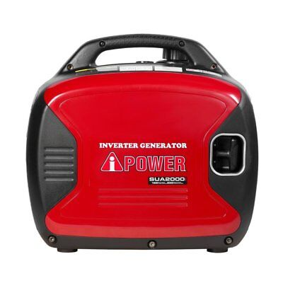 A-iPower SUA2000I 2,000-Watt Gasoline Powered Portable Inverter Generator New