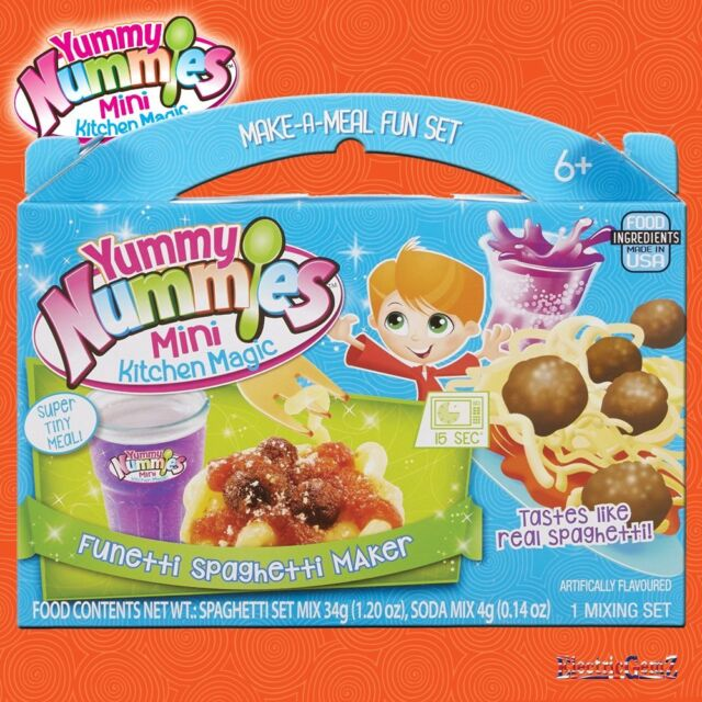 Yummy Nummies Make a Meal Fun Set - Funetti Spaghetti and Meatballs Food Maker