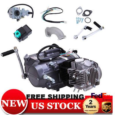 125CC 4 Stroke CDI Motor Engine Pit Dirt Bike ATV Quad Fit For Honda CRF50 Z50