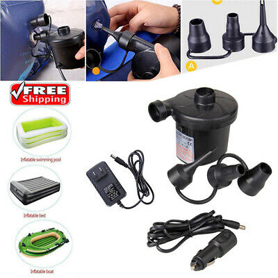 110v Dc Air Pump - New Electric Air Pump Inflator Deflate for Toys Air Bed Mattress Boat Pool 110V