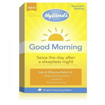 Hyland's Good Morning Quick Dissolving Tablets 50 ea