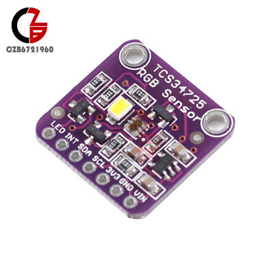Tcs34725 Rgb White Light Color Sensor Recognition Module For Arduino