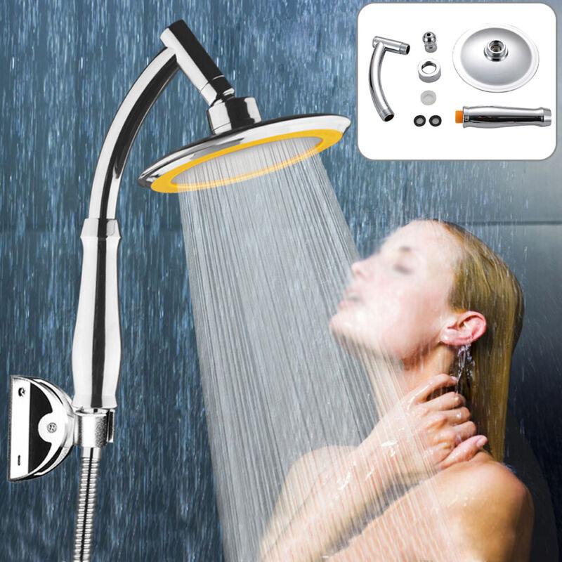 Mucjun Palmare soffione Doccia Bagno ad Alta Pressione Turbo energetico Risparmio idrico Bagno Showerhead