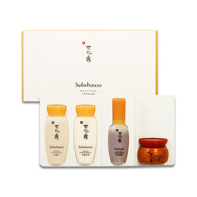 Sulwhasoo  Basic Kit Samples   1Pack  4Item    Free Gift