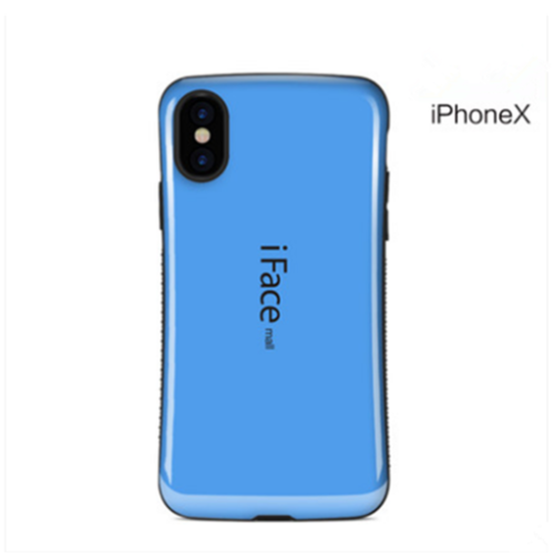 IFace Shockproof Heavy Duty Candy Color Hard Case Back For iPhone X 8 7 6s Plus