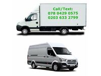 Man and Van from £15/hr / removal luton van/ transit medium van / house move / office move / Recycle