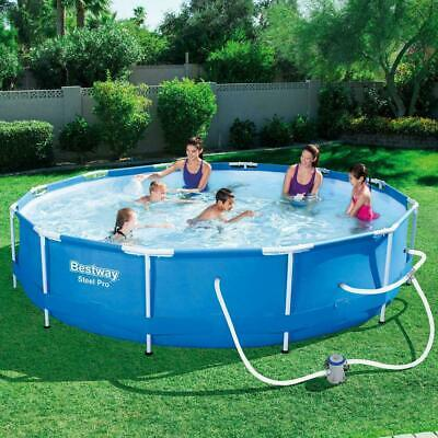 """Bestway Steel Pro Max Above Ground Pool with 330 GPH Filter Pump 12'x30"""""""