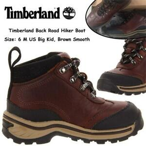 NEW Timberland Back Road Hiker Boot (Toddler/Little Kid) Condtion: New, 6 M US Big Kid, Brown Smooth