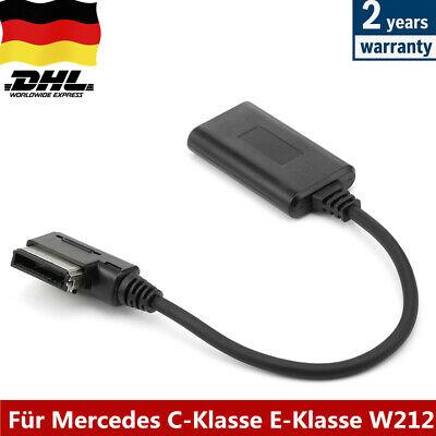 DE Bluetooth CLS AUX Streaming Adapter Radio Für Mercedes C-Klasse E-Klasse W212