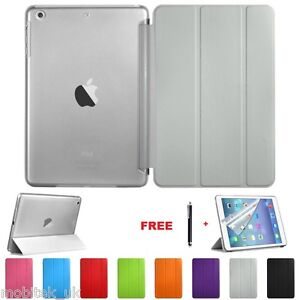 Ultra-Thin-Magnetic-Leather-2-Piece-Smart-Case-Cover-Stand-Apple-iPad-9-7-034-2017
