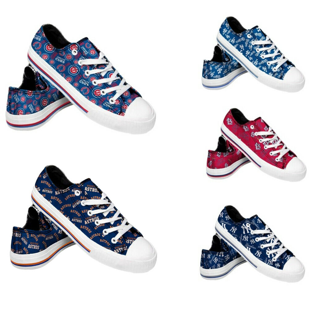 MLB Women's Low Top Repeat Canvas Shoes