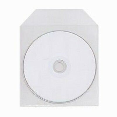 1000 Pack Cpp Clear Plastic Bag Sleeve Fit Cd Dvd