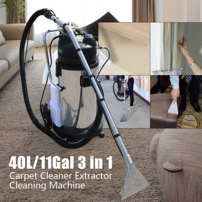 40L Household Carpet Cleaning Machine Sofa Curtain Dust Collector Cleaner 110V