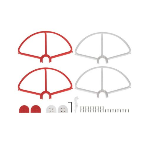 Removable Propellers Prop Protectors Guard Bumpers For Phantom 3 Red & White GW