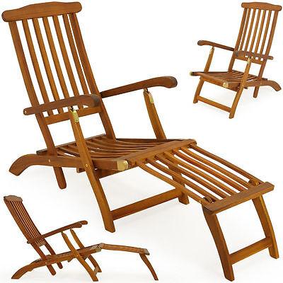 Sdraio  lettino sedia a sdraio da giardino  in legno