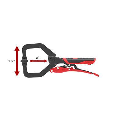 7quot Locking C-clamp Welding W. Grips