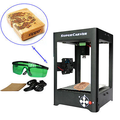 1000mW DIY Laser USB Engraver Cutter Mark Engraving Carving Machine Printer USA