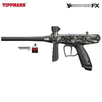 Tippmann Gryphon FX Paintball Gun - Skull